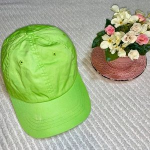 Accessories - 🧢BASEBALL HAT ADJUSTABLE LIME GREEN 🧢